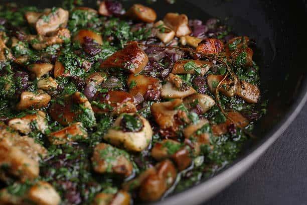 Medicinal Mushrooms Shiitake Dish